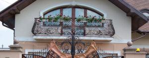 кованые балконы спб