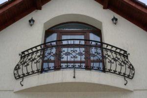 Кованые балконы в спб